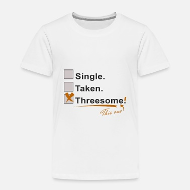 Funny Threesome Single award threesome - Kids' Premium T-Shirt