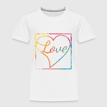 Love with heart - Liebe - Kinder Premium T-Shirt