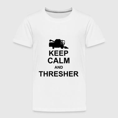 keep_calm_and_thresher_g1 - Maglietta Premium per bambini