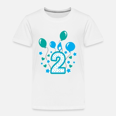 Birthday Second birthday boy, 2nd birthday gift - Kids' Premium T-Shirt