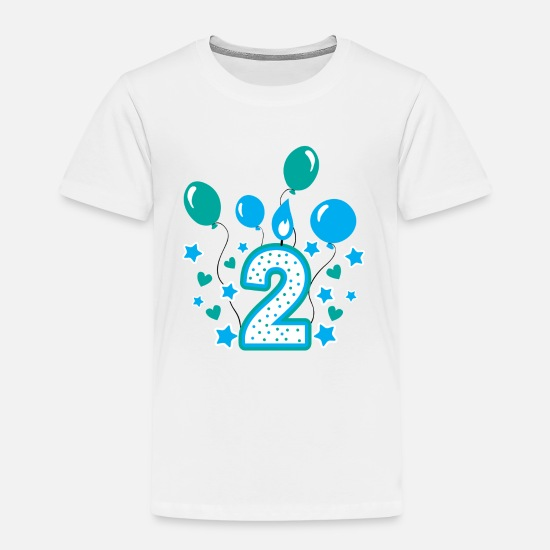 5d9ad891 Boy T-Shirts - Second birthday boy, 2nd birthday gift - Kids' Premium