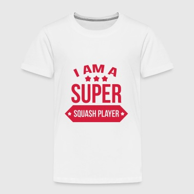 Super Squash Player / Sport - Kids' Premium T-Shirt