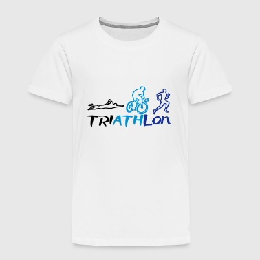 Triathlon Men - Kinderen Premium T-shirt