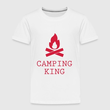 Camping King - Kids' Premium T-Shirt