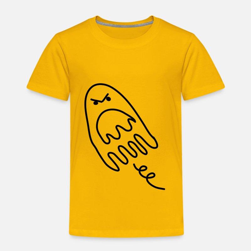 afa734ff20843 fantasma halloween vampiro monstruo undead niño bebé Camiseta premium niño