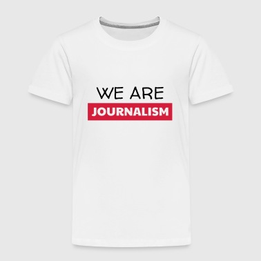 journalist / journalistiek / krant / interview - Kinderen Premium T-shirt