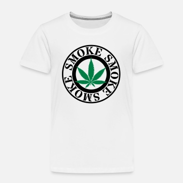 Smoke Hemp smoke hemp leaf - Kids' Premium T-Shirt