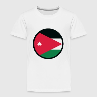 Nationalflagge von Jordanien - Kinder Premium T-Shirt
