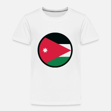 Jordan Palestinian National flag of Jordan - Kids' Premium T-Shirt