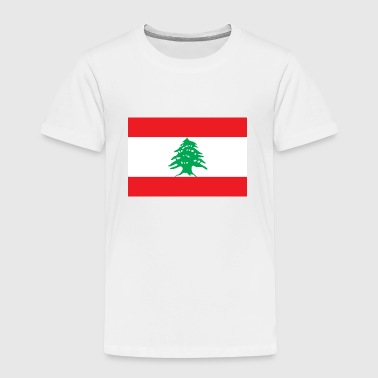 Drapeau national du Liban - T-shirt Premium Enfant