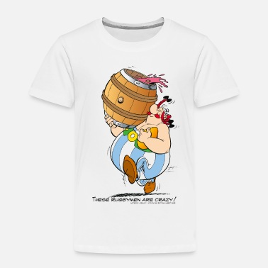 Funny Asterix & Obelix - These Rugbymen - Kids' Premium T-Shirt