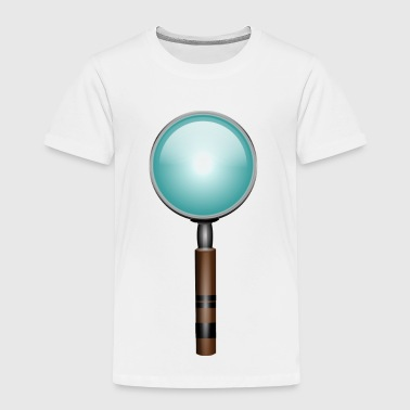 magnifying glass - Kids' Premium T-Shirt