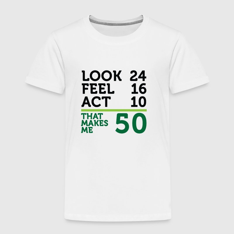 I am 50 years old, but .... - Kids' Premium T-Shirt