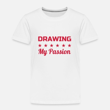 Enfant Zeichnung Zeichner Drawing Drawer Dessin - Kids' Premium T-Shirt