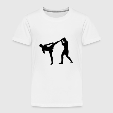 Kickboxing, Martial Arts - Kids' Premium T-Shirt