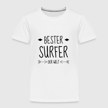 surf / surfista / tablista / surfing - Camiseta premium niño