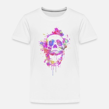 Garish  Cool & Trendy  Abstract Skull - Kids' Premium T-Shirt