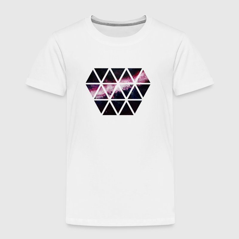diamond of triangles diamant van driehoeken - Kinderen Premium T-shirt