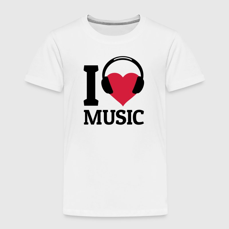 I love Music - T-shirt Premium Enfant