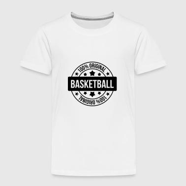 Basketball - Basket Ball - Game - Sport - Player - Kinder Premium T-Shirt