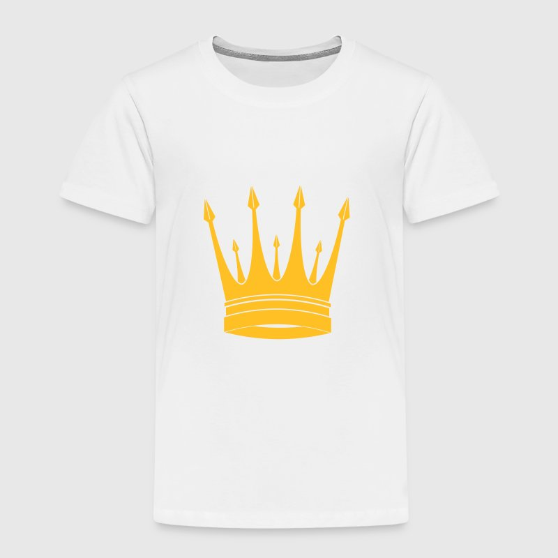 krone / konge / Crown / King - Premium T-skjorte for barn