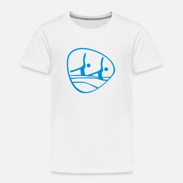 Synchronized Swimming  synchronized_ swimming_olim1 - Kids' Premium T-Shirt
