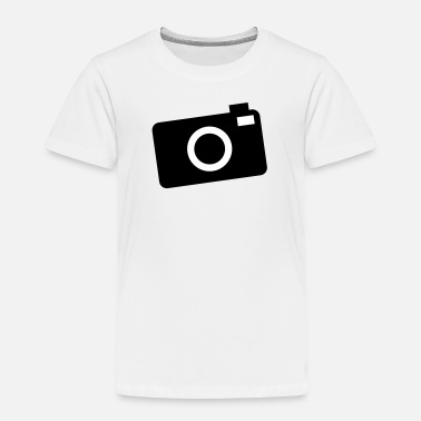 Camera Icon camera - Kids' Premium T-Shirt