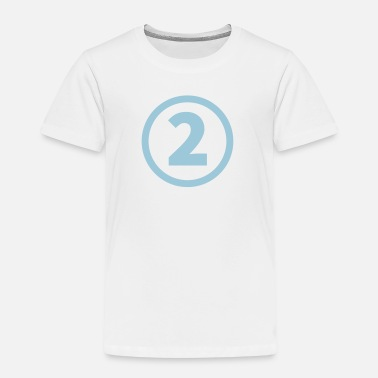The Number Two number two - Kids' Premium T-Shirt