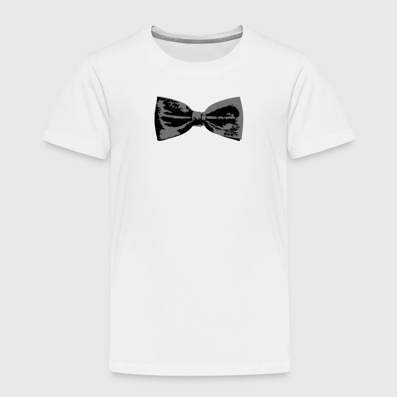 Bow Tie Dinner Jacket Suit Design - Kids' Premium T-Shirt