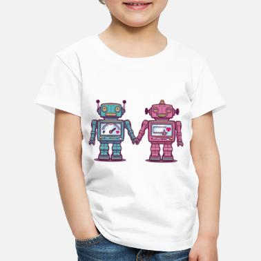 Collections Loving Robots - Kids' Premium T-Shirt
