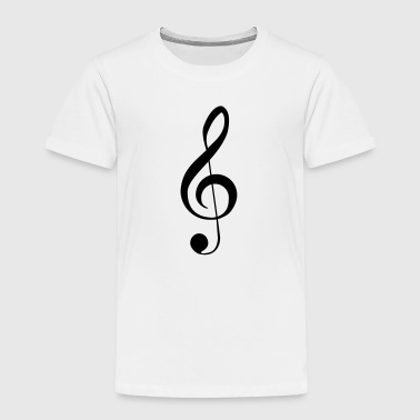 Music Notes Clef Music Notes - Kinderen Premium T-shirt