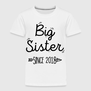 Sister Big sister Since 2018 - Kids' Premium T-Shirt