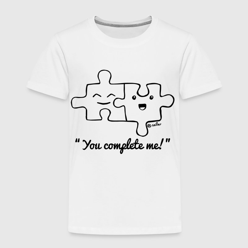 You complete me - Kids' Premium T-Shirt
