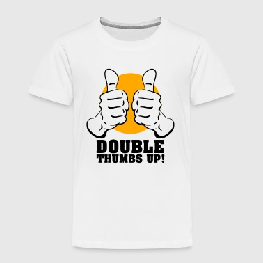 Thumbs Pointing At Me Duim omhoog - Kinderen Premium T-shirt