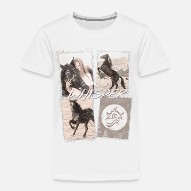 Whisper Whisper 3 La Chevauchée Sauvage Collage - T-shirt Premium Enfant