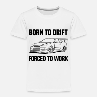 Japan born to drift - Kids' Premium T-Shirt