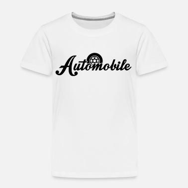 Automobil automobile - Kinder Premium T-Shirt