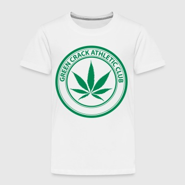 GREEN CRACK CLUB. - Kinder Premium T-Shirt