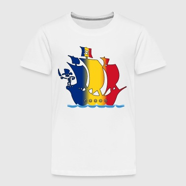 piratenschiff_rumaenien - Kinder Premium T-Shirt