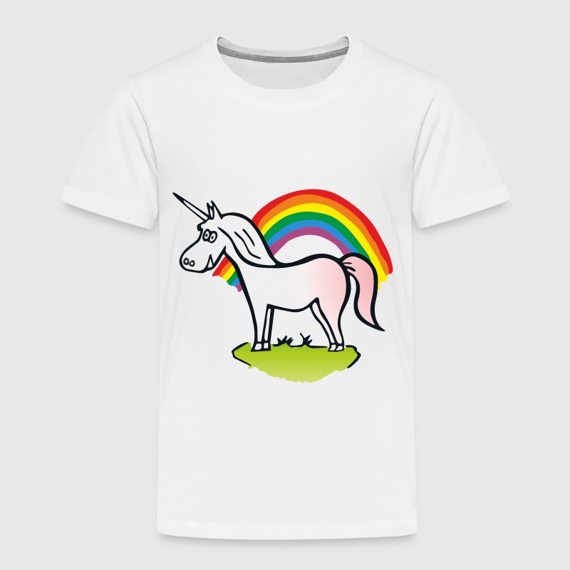 Rainbow & Unicorn  - T-shirt Premium Enfant