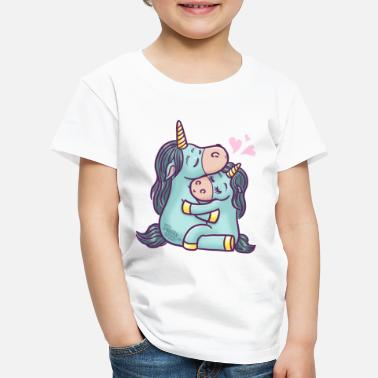 unicorns in love  - Kids' Premium T-Shirt