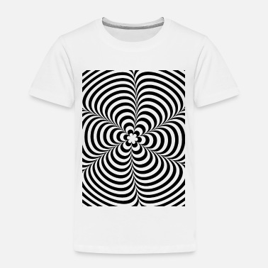 Op Optical illusion (Impossible) Black & White OP-Art - T-shirt Premium Enfant