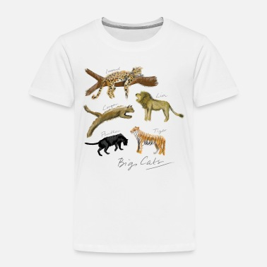 Cougar Big Cats - Kids' Premium T-Shirt