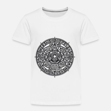 Black And White Collection Azteken - Kinderen Premium T-shirt