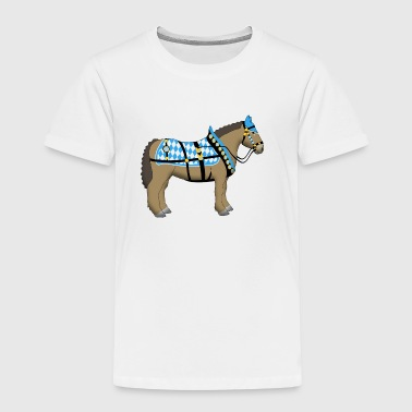 bavarian cold-blooded horse  - Kids' Premium T-Shirt
