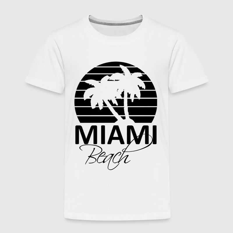 miami beach - T-shirt Premium Enfant