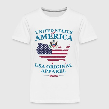UNITED STATES OF AMERICA - Kids' Premium T-Shirt