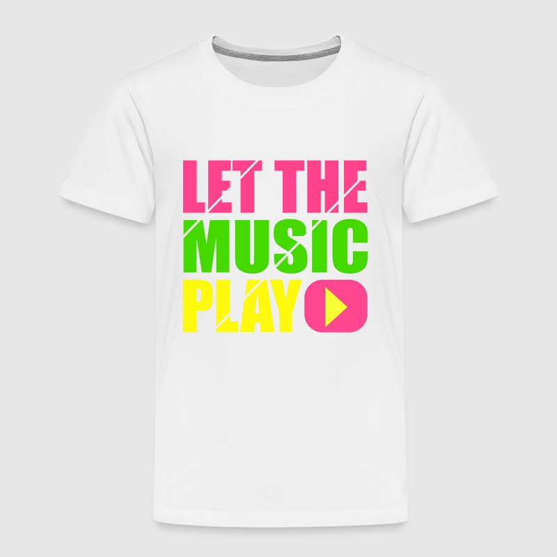let the music play - Maglietta Premium per bambini