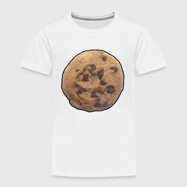 Cookie - Chocolate Chip - Snack - Food - Sweet - Kids' Premium T-Shirt