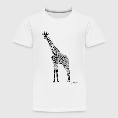 Black Girafe By Joaquín - T-shirt Premium Enfant
